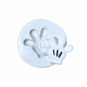 Molde de Silicone Mão...