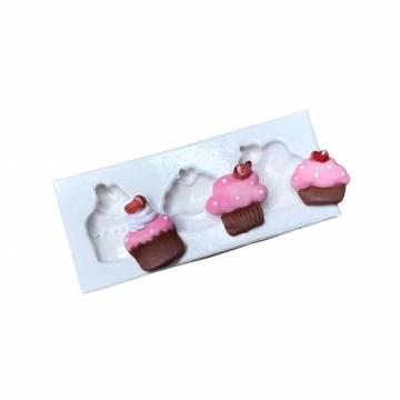 Molde de Silicone Cupcakes...
