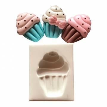 Molde de Silicone Cupcake...