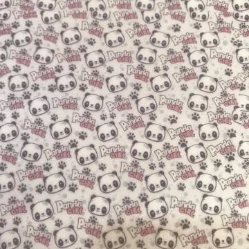 Papel de Arroz Panda Girl -...
