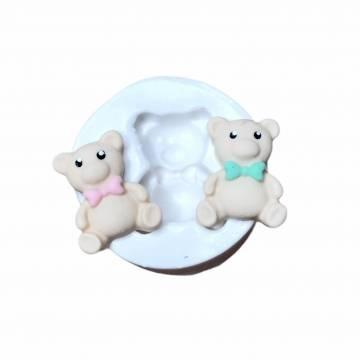 Molde de Silicone Urso Mini...
