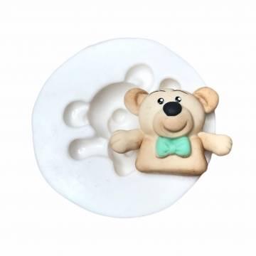 Molde de Silicone Urso Igor...