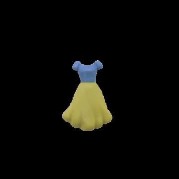 Molde de Silicone Vestido...